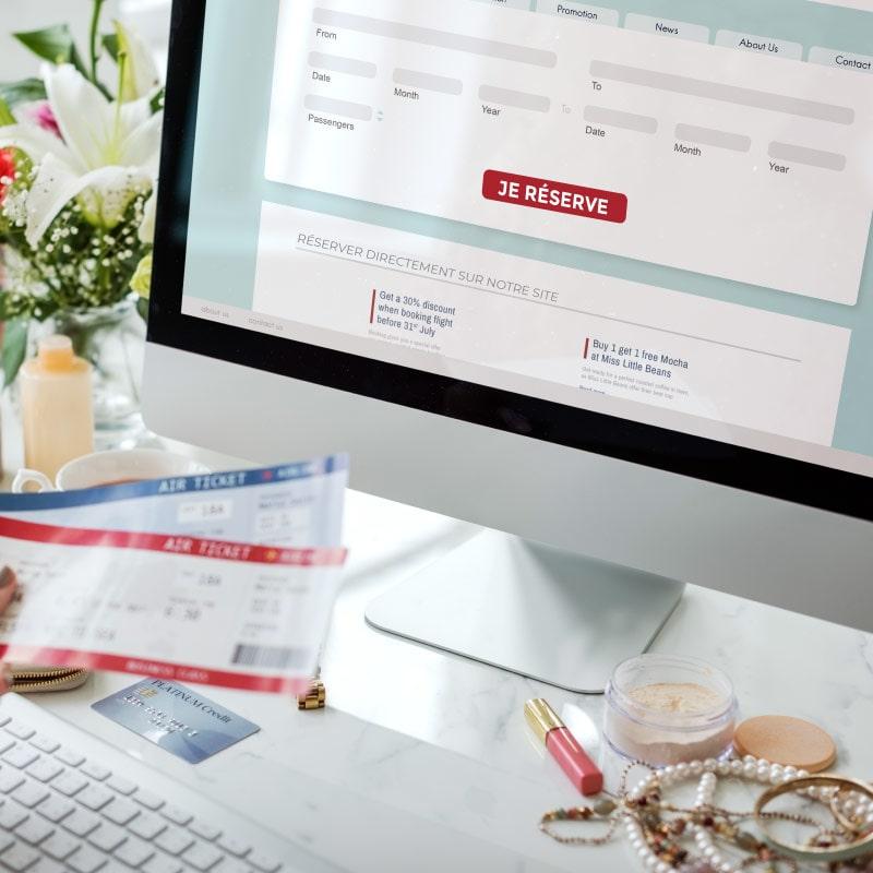 creation Site internet hotel restaurant snack livraison paiement en ligne